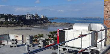 Climatisation ventilation - Installation à Dinard