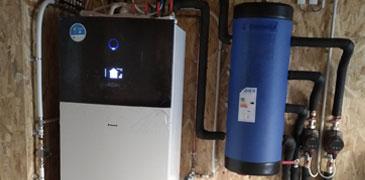 Mise en service d'une pompe à chaleur à Saint-Malo
