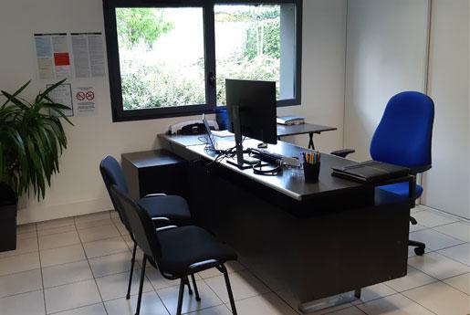 Bureau de l'entreprise Cliamrvor à Saint-Malo