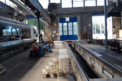 Installation d'un système de ventilation à la gare SNCF de Saint-Malo