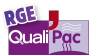 Logo RGE QualiPAC pour Climarvor