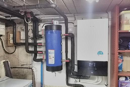 Installation de pompe à chaleur par Climarvor en Bretagne