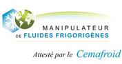 Certification Cemafroid - Fluides frigorifiques