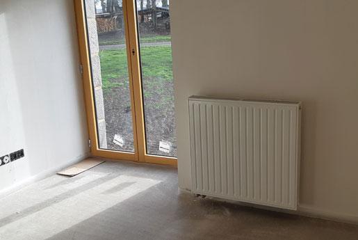 Installation d'un système de chauffage à Saint-Malo
