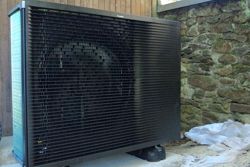 Installation d'une pompe à chaleur à Dinan par Climarvor