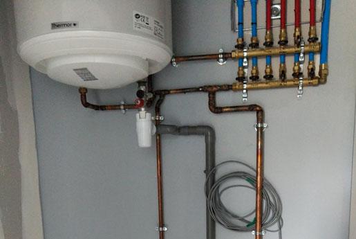 Installation de chauffe eau à Rennes avec Climarvor