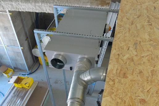 Installation d'un système de VMC par Climarvor en Bretagne à Saint-Malo